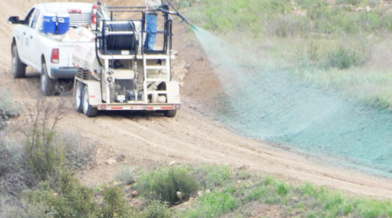 Hydroseeding for Erosion Control